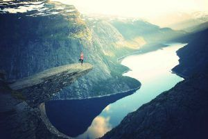 Hang out on Trolltunga, Norway. 100 things to do before you die. My bucket list