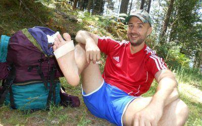 Como curar ampollas en los pies en travesías de montaña