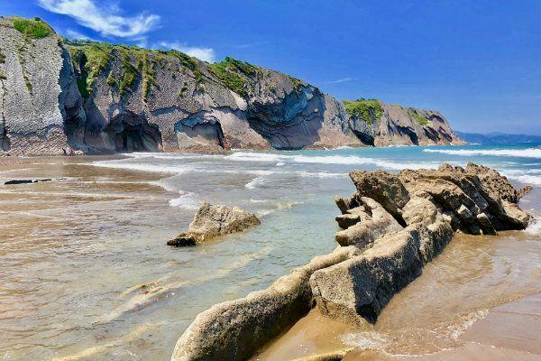Playa de Itzurun. Las mejores playas del Cantabrico