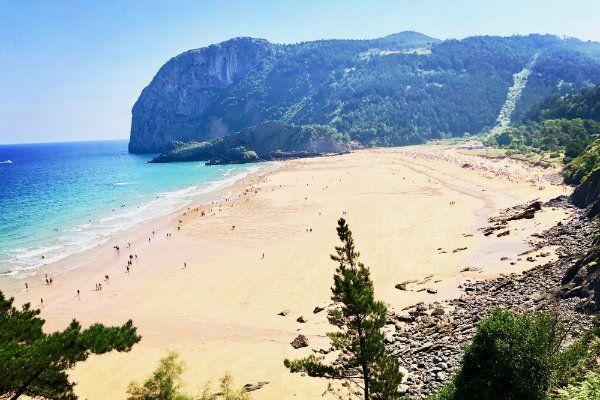 Playa de Laga. Mejores playas del Cantabrico