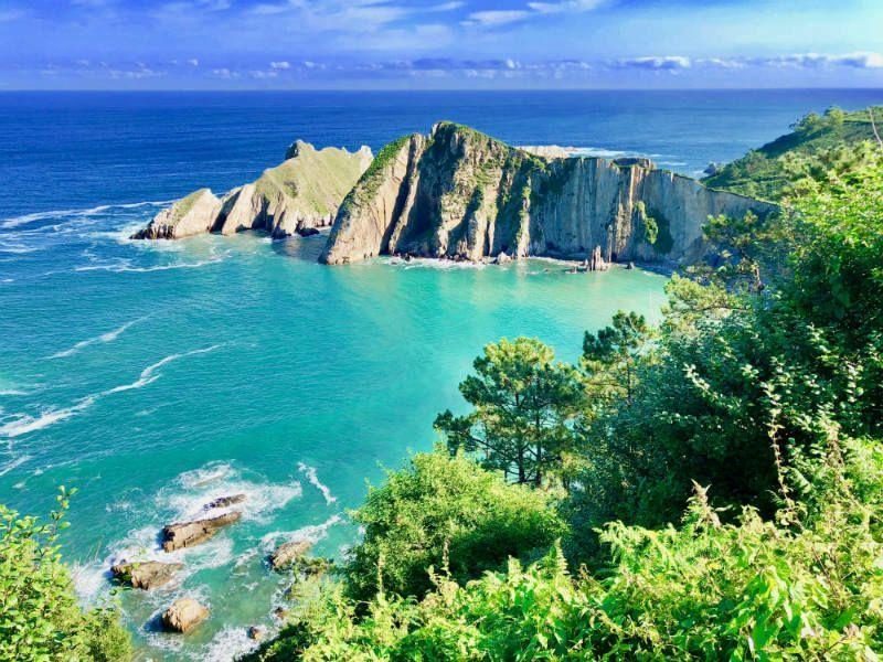 Mejores playas del Cantabrico