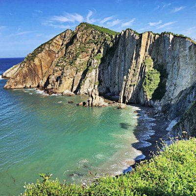 Playa del Silencio. Turismo rural en España