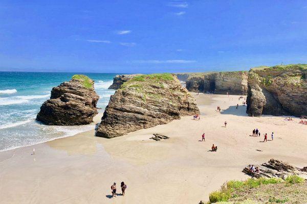 Playa de las Catedrales. Mejores playas del Cantabrico