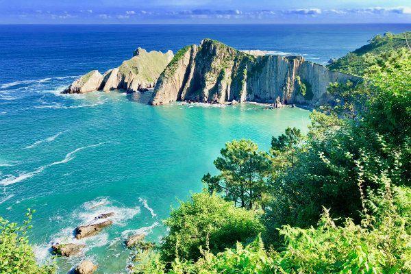 Playa del Silencio. Mejores playas del Cantabrico